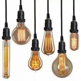 Lampada Edison Retro Vintage Filamento Carbono