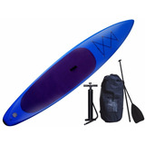 Kit Tabla Stand Up Paddle Inflable 140kg Surf Tablón Nice