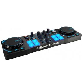 Consola Hercules Dj Control Compact Usb Virtual Mixer Mezcla