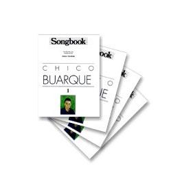Kit Songbook Chico Buarque Vols 1, 2, 3 E 4 - 4 Livros