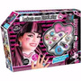 Set De Maquillaje Y Peluca Draculaura Monster High!!