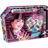 Set De Maquillaje Y Peluca Draculaura Monster High!!