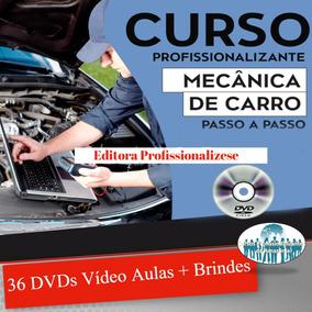 Curso Mecânica Automotiva 36 Dvds + Brindes Z24