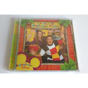 Cd Casa Playhouse Disney - Cantando Topa Y Muni (caja Rota)