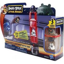 Juego Mesa Angry Birds Darth Vader Star Wars Ligthtsaber Bat