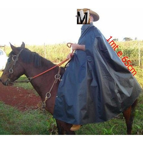 Capa Cavaleiro Ou Boiadeiro Tamanho Gg Forrada De Chuva