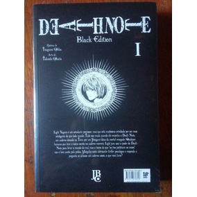 Mangá Death Note Black Edition Volume 01 ( Lacrado ! )