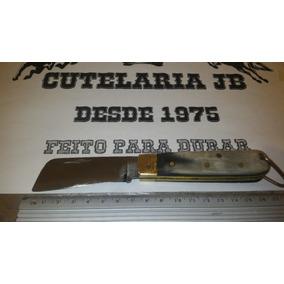 Canivete Cutelaria Jb 100% Artesanal Chifre - 04