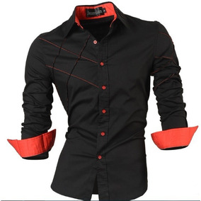 Camisa Social Slim Fit Estilo Boutique Ocidental