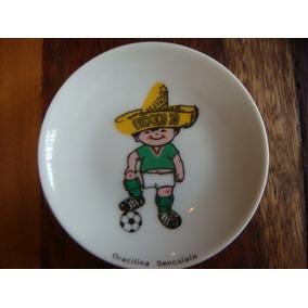 Platos De Porcelana Mascota Juanito Mundial De México 70...