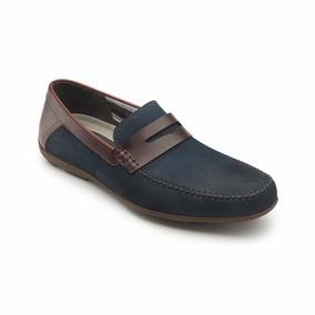 Calzado Zapato Flexi 68607 Azul Oficina Casual Vestir Salir