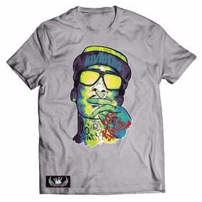 Camisa Camiseta Wiz Khalifa Gang Rap Hipho