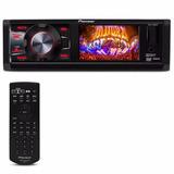 Dvd Player Pioneer 3 Polegadas Usb Aux Mp3 Entrada Camera Re