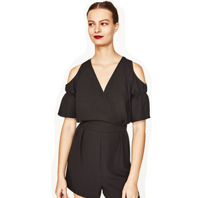 Mono Zara Corto Off-shoulder Talle M