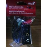 Convertidor Audio Stereo Genius 5.1 Creative Logitech