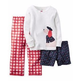 Pijama Carters - Set De 3 - Talle 4