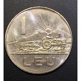 Rum008 Moneda Rumania 1 Leu 1966 Unc-bu Ayff