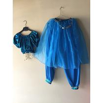 Vestido Danza Arabe O Disfraz Talla Grande 34, 36, O 38