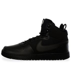Tenis Nike Court Borough Mid - Aa0547002 - Negro - Hombre
