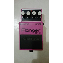 Pedal Boss Flanger Bf2 Bf-2 Delay Distortion Efecto Guitarra