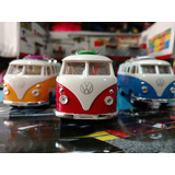 Volkswagen Bus Kombi T1 Con Tabla De Surf 1/36 Metal Coccole