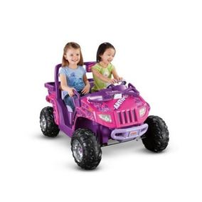 Fisher-price Power Wheels Arctic Cat 12 Voltios Con Pilas De
