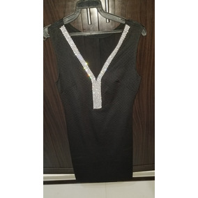 Vestido Corto Dama Negro Talla Gde