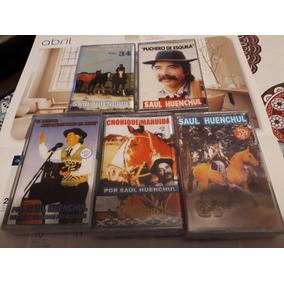Saul Huenchul*cassettes Varios*nuevos*venta Por Unidad