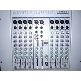 Mixer Mark Audio Modelo Cms-8 8 Canais