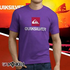 6c29b1c73b656 Camiseta Quiksilver Replicar - Camisetas e Blusas no Mercado Livre ...