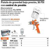 Pistola Profesional Para Pintar, De Gravedad, Vaso 19091