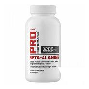 Suplemento Beta Alanine Gnc Pro 3200mg Importado 120cápsulas