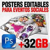 Photoshop Plantillas Psd Editables Eventos Sociales Excelent
