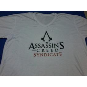 Camiseta Personalizada Estampada Assassins Creed Syndicate