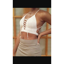 Crop Top Tejidos A Crochet