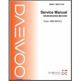 Manual Servicio Técnico Lavadora Daewoo Dwc-ed1212 Español