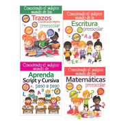 Lectoescritura Trazos Letras Preescolar Paquete Kinder