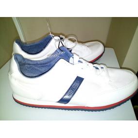 Zapatillas Tommy Hilfiger Blancas , Talle Usa 9,5 . Nuevas