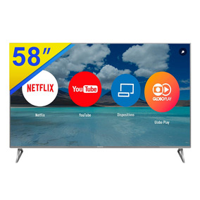Smart Tv Led 58 Panasonic 4k Uhd, Quad Core - Tc-58ex750b
