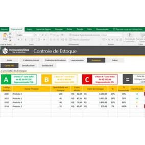 Pacote Planilhas Excel Top