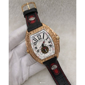 31f8e94a81c Relógio Franck Muller Rosê Tourbillon - Modelos Raros