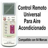 Control Remoto Universal Aire Acondicionado Split Frio Calor