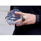 Botella De Agua Craneo Calavera Skull Mecanico Jeans Pet