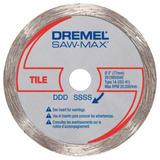 Disco Diamantado P/ Azulejos Sm540 Para Dremel Saw Maxdremel