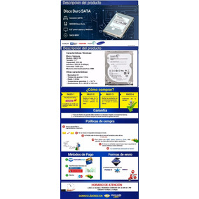 Disco Duro Para Laptop Samsung Seagate 320 Y 250 Gb Sata