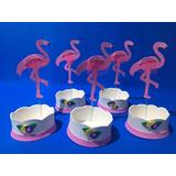Centro De Mesa Flamingo