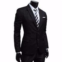 Traje Entallado Pantalon Chupin Ambo Vestir Envio 100%gratis