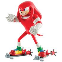 Knuckles Figura Articulada (17cm) Sonic Boom Tomy To-22513-b