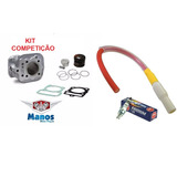 Kit Turbina + Ibooster + Vela +cg Titan 125 03-08 4mm P/150