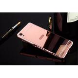 Capa Case Bumper Espelhado Celular Sony Xperia Xa+1 P/ Vidro